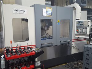 Large Performa HV5.5A vertical mills machine