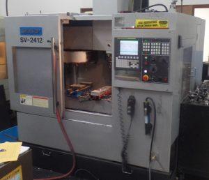 Sharp SV-2412, large vertical mills machine